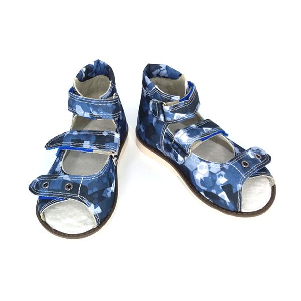 Детская ортопедическая обувь «Аюрведа 00-2» из текстиля