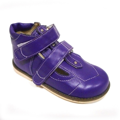 Обувь ортопедическая детская «Аюрведа 001/1» (18-22 см) фиолетовая