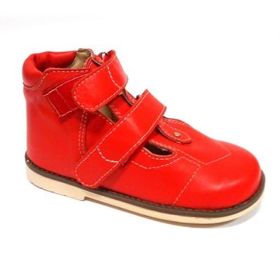 Обувь ортопедическая детская «Аюрведа 001/1» (18-22 см) красная