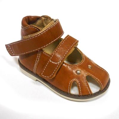 Обувь ортопедическая детская «Аюрведа 001» коричневая