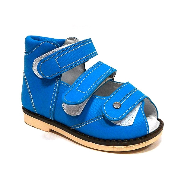Детская ортопедическая обувь «Аюрведа 00-2» 13-17 см синяя