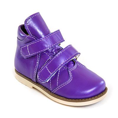 Детская ортопедическая обувь «Аюрведа 002» 18-22 см фиолетовая
