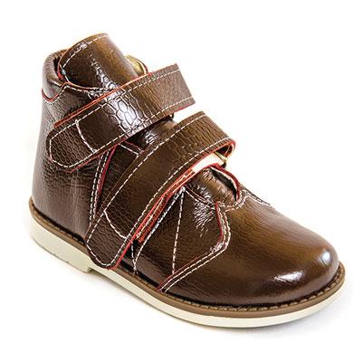 Детская ортопедическая обувь «Аюрведа 002» 18-22 см коричневая
