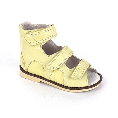 Детская ортопедическая обувь «Аюрведа 00-1» 18-22 см бежевая