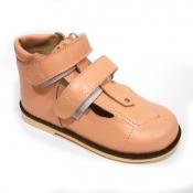 Обувь ортопедическая детская «Аюрведа 001/1» (18-22 см) бежевая