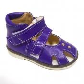 Обувь ортопедическая детская «Аюрведа 001» фиолетовая