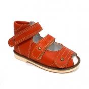 Детская ортопедическая обувь «Аюрведа 00-2» из кожи