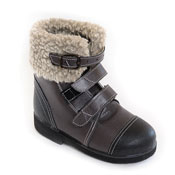 Детская ортопедическая обувь «Аюрведа 003» 18-22 см черная