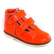 Обувь ортопедическая детская «Аюрведа 001/1» (18-22 см) оранжевая