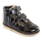 Обувь ортопедическая детская «Аюрведа 001/1» (18-22 см) черная