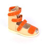 Детская ортопедическая обувь «Аюрведа 00-2/1» 18-22 см оранжевая