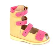 Детская ортопедическая обувь «Аюрведа 00-2/1» 18-22 см розовая