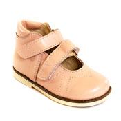 Обувь ортопедическая детская «Аюрведа 001/1» бежевая