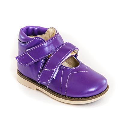 Обувь ортопедическая детская «Аюрведа 001/1» фиолетовая